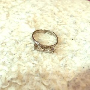 Silver Luck Ring